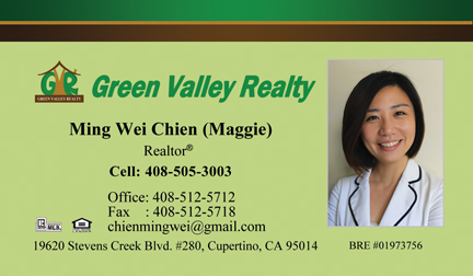 Mingwei Business card