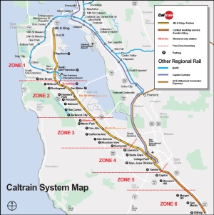 Cal Train System